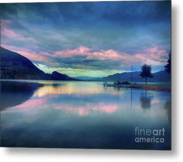 Okanagan Mornings Metal Print