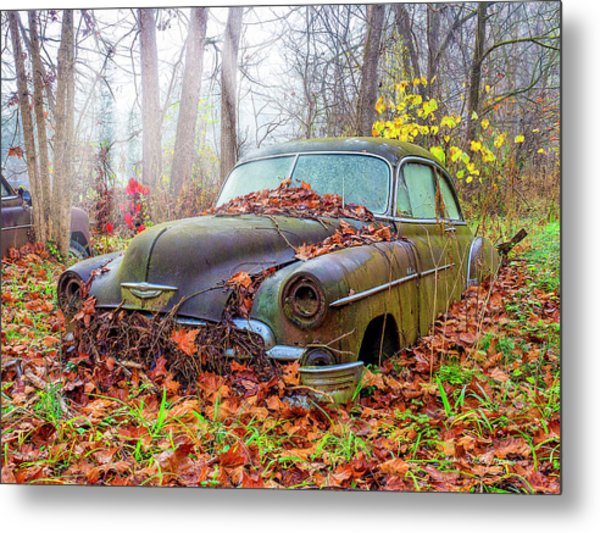 Ol' 49 Chevy Coupe Metal Print
