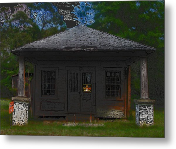 Old 86 2 Metal Print by David A Brown