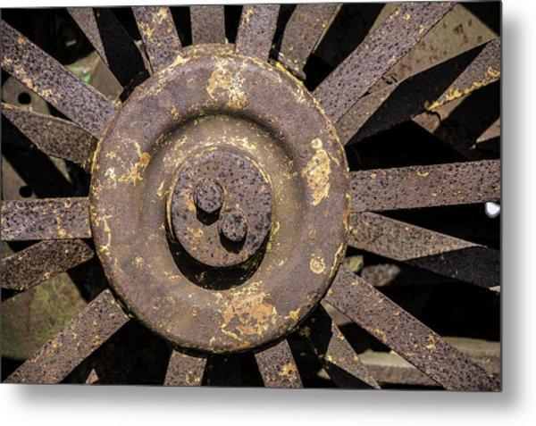 Old Age Metal Print