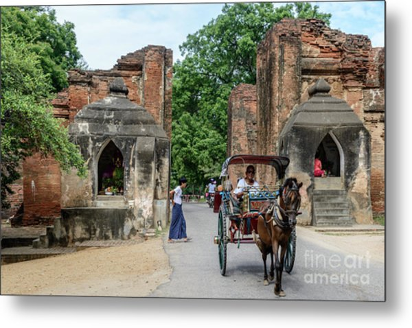 Old Bagan Metal Print