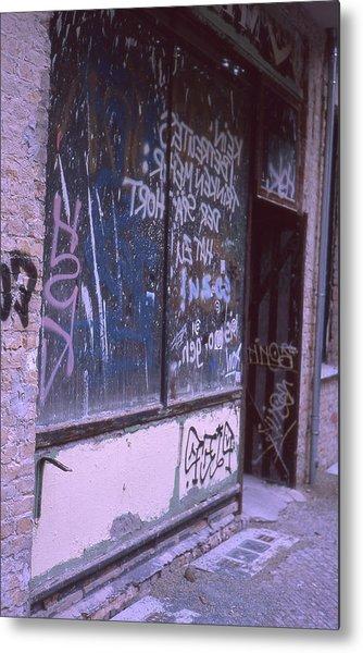 Old Bar, Old Graffitis Metal Print