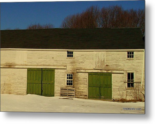 Old Barn Metal Print by Lois Lepisto