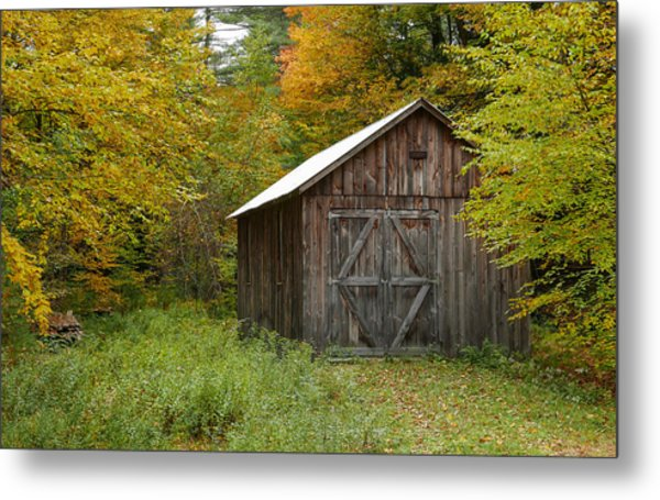 Old Barn New England Metal Print
