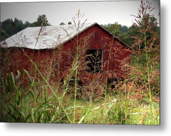 Old Barn Xii Metal Print