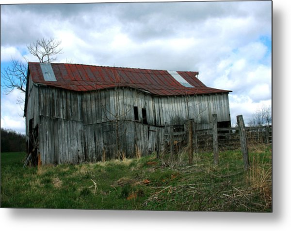 Old Barn Xiii Metal Print