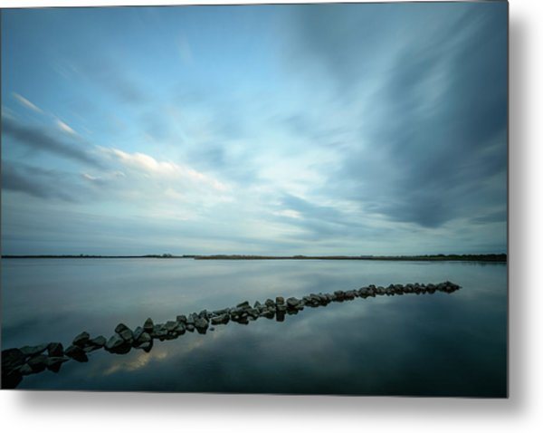 Old Blue Morning Metal Print