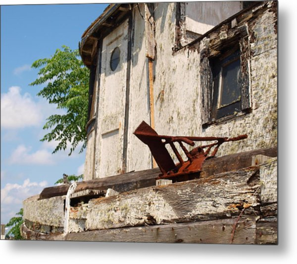 Old Boat 2 Metal Print by James Granberry