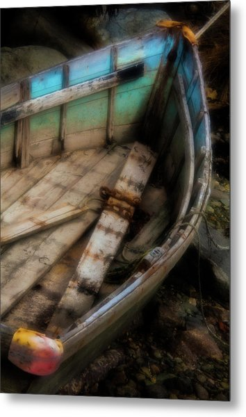 Old Boat 2 Stonington Maine Metal Print