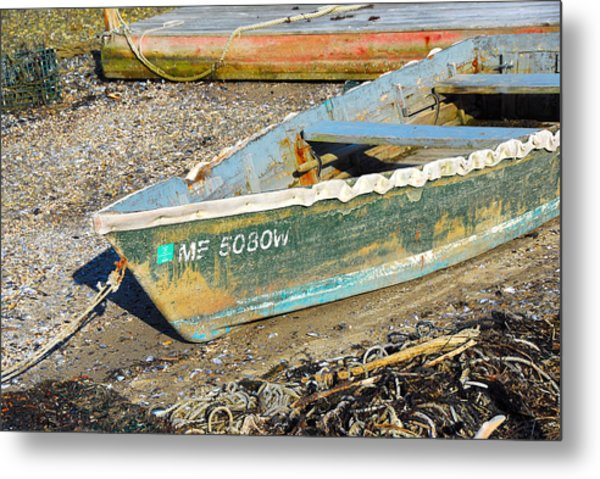 Old Boat Metal Print