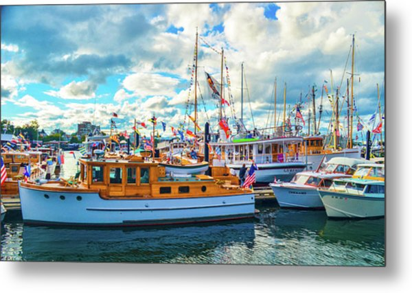 Old Boats Metal Print