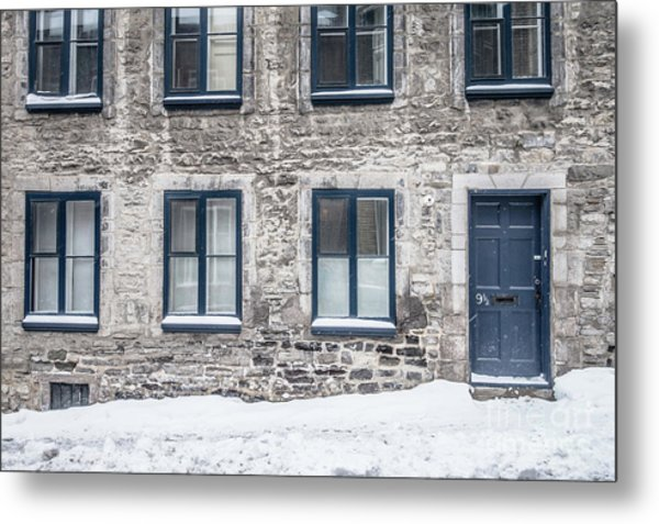 Old Building In Quebec City Metal Print