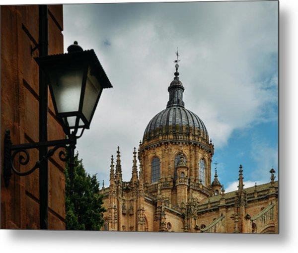 Old Cathedral, Salamanca, Spain  Metal Print