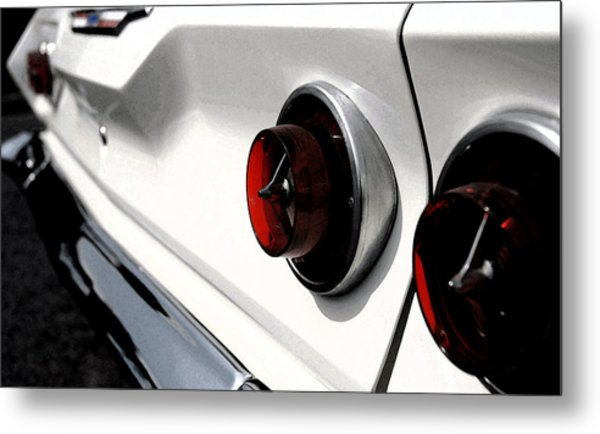 Old Chevy Metal Print by Cabral Stock