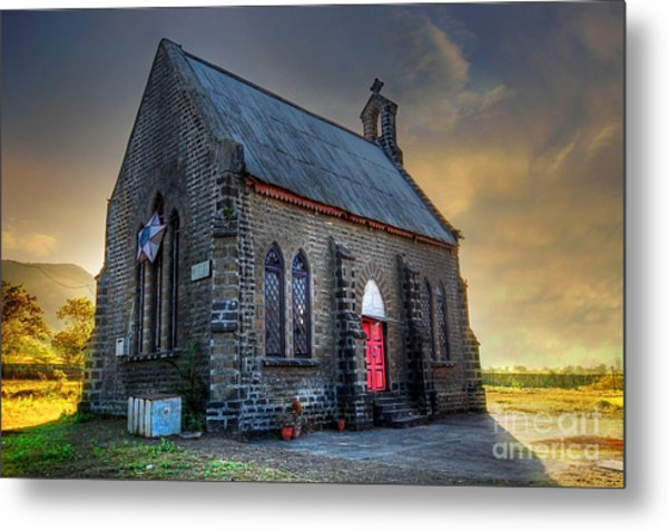 Old Church Metal Print