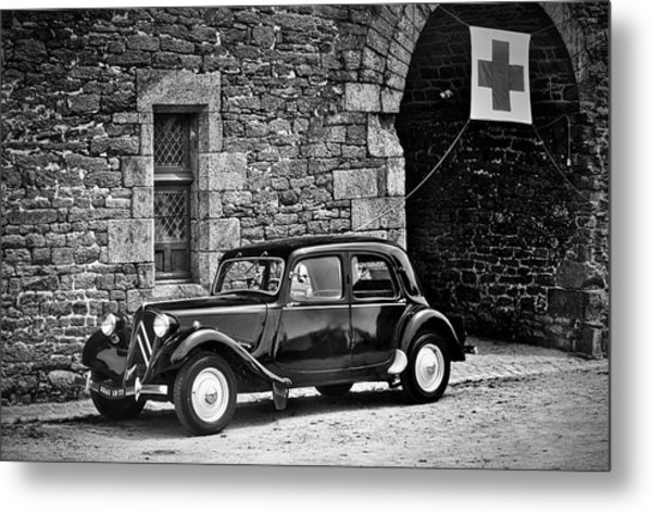 Old Citron Metal Print