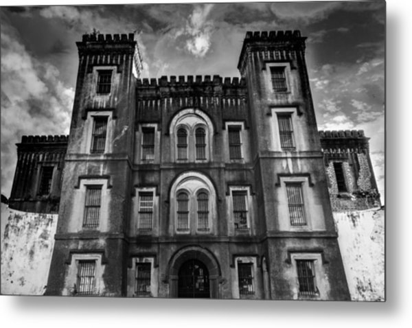 Old City Jail Metal Print by Drew Castelhano