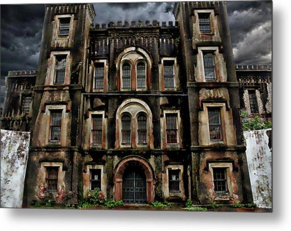 Old City Jail Metal Print