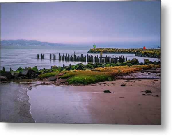 Metal Print featuring the photograph Old Columbia River Docks by Bryan Carter