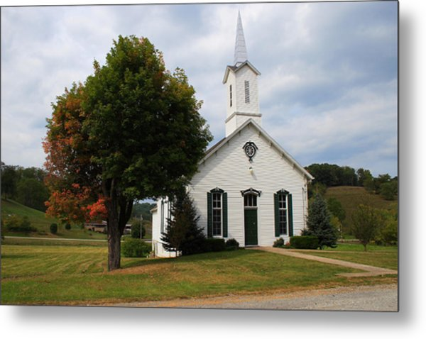 Old Concord Church Metal Print