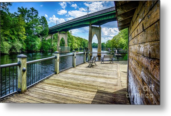 Old Conway Bridge Metal Print