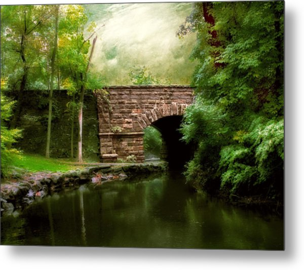 Old Country Bridge Metal Print