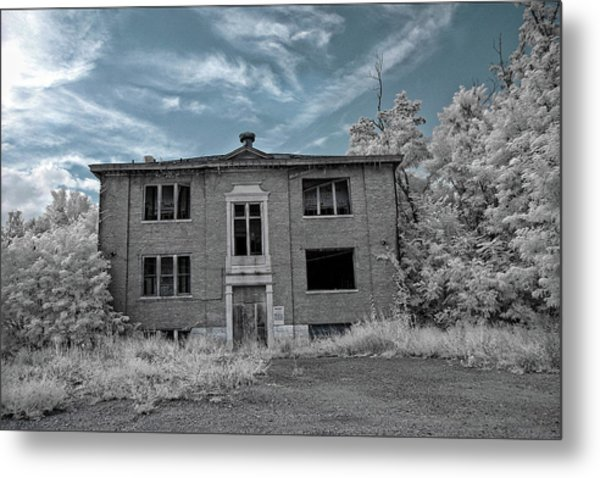 Old Edmonton High School Ir 2 Metal Print