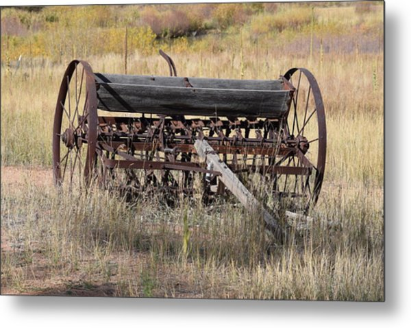 Farm Implament Westcliffe Co Metal Print