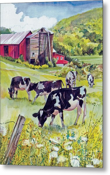 Old Farm Metal Print