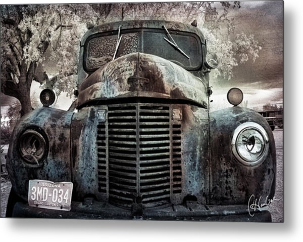 Old Farm Truck II Metal Print by Christine Hauber