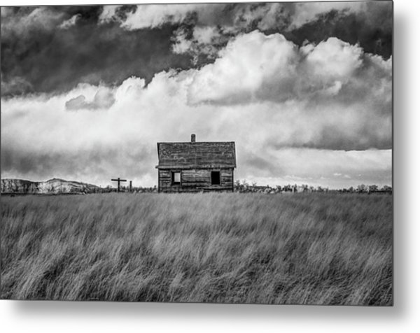 Old Farmhouse Metal Print