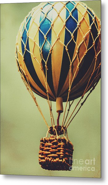 Old-fashioned Exploration Metal Print