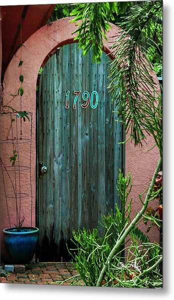 Old Florida 7 Metal Print