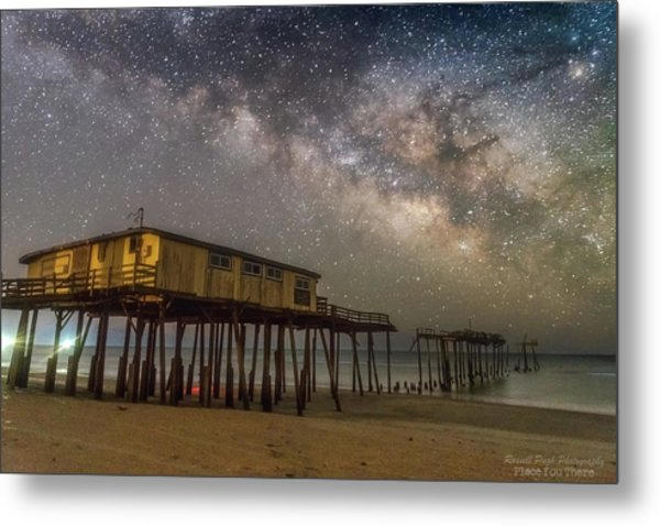Old Frisco Pier Metal Print