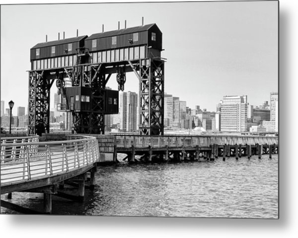 Old Gantry Metal Print