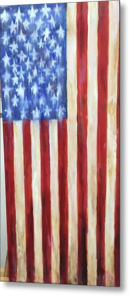 Old Glory Vii Metal Print