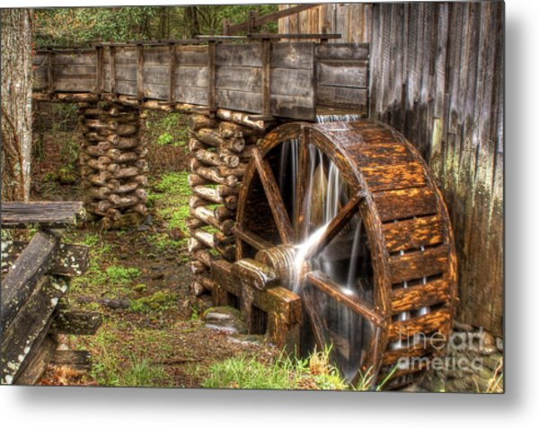 Old Grist Mill Metal Print
