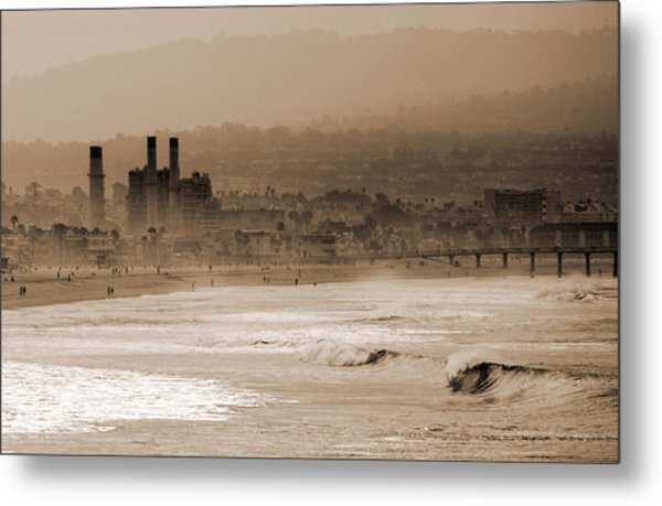Old Hermosa Beach Metal Print