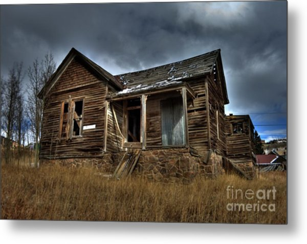 Old And Forgotten Metal Print