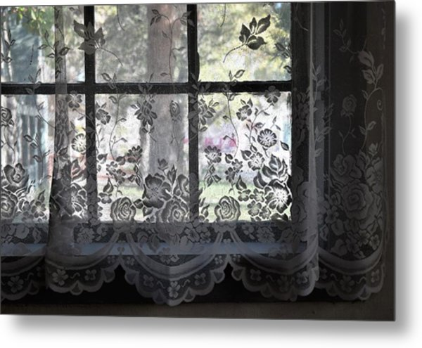 Old Lace And Old Times Metal Print