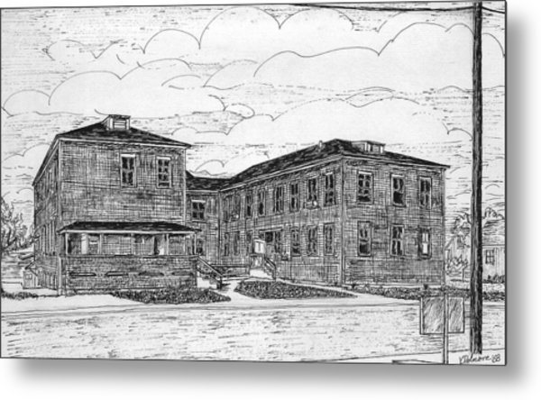 Old Lilly Lab At Mbl Metal Print