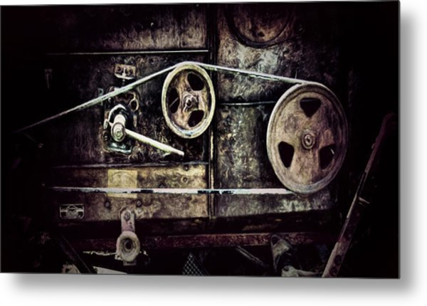 Old Machine Metal Print