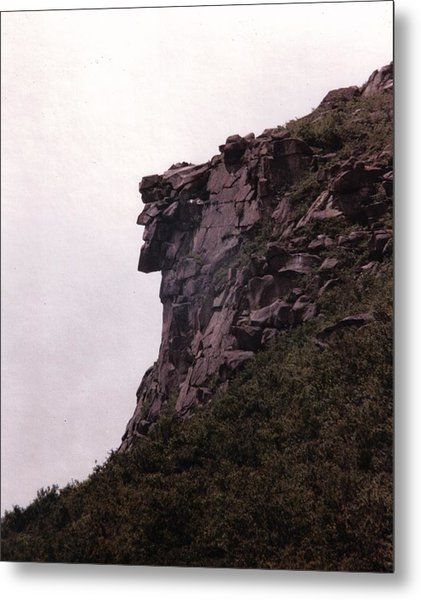 Old Man Of The Mountain Metal Print