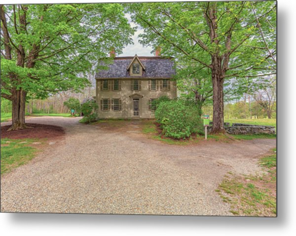 Old Manse Concord, Massachusetts Metal Print