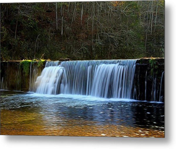 Old Mill Dam Metal Print