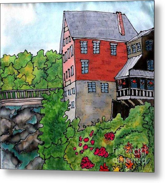 Old Mill In Bradford Metal Print by Linda Marcille