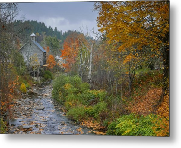 Old Mill New England Metal Print