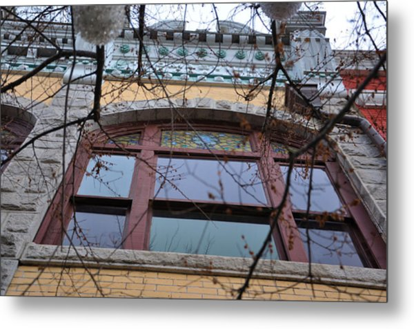 Old National Bank Metal Print by Jan Amiss Photography