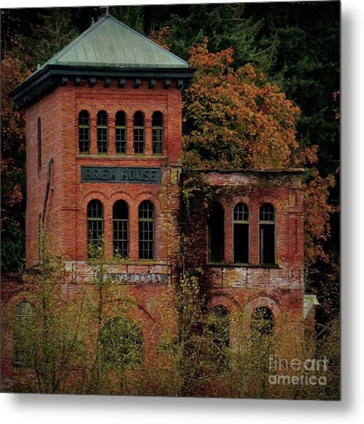 Old Olympia Brewery Metal Print
