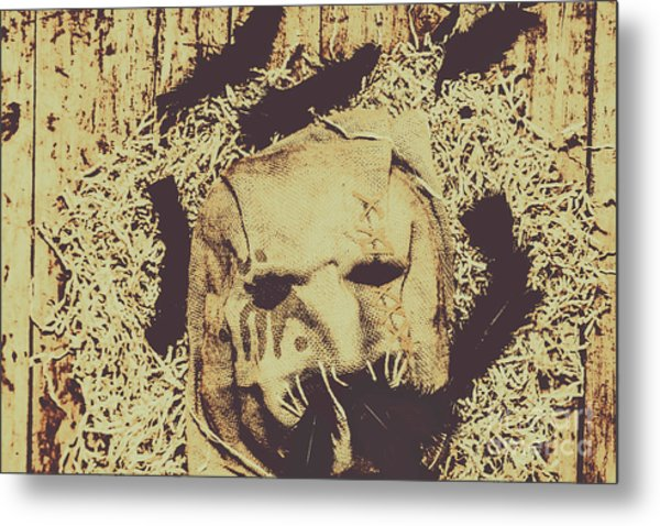 Old Outback Horrors Metal Print